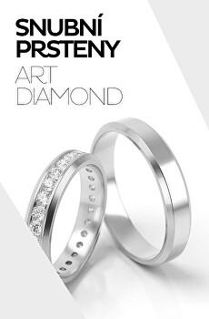 Dokonalé snubní prsteny Art Diamond