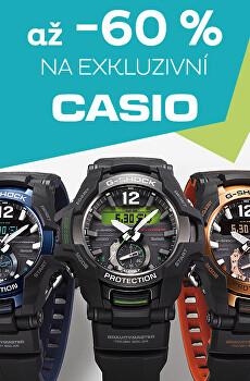 Exkluzivní slevy na Casio