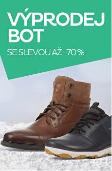Výprodej bot se slevou až -70 %