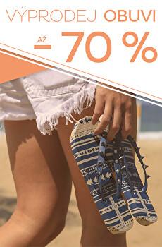 Výprodej obuvi až - 70 %