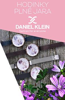 Květinové hodinky Daniel Klein
