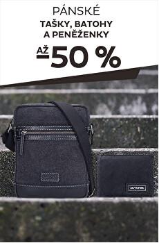 Tašky, batohy a peněženky až -50%