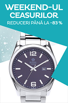 Weekend-ul ceasurilor până la -83%