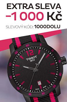 Sleva 1000 Kč na oblíbené hodinky
