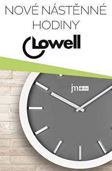 Nové hodiny Lowell