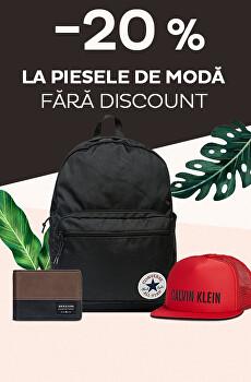 -20 % la piesele de modă fără discount