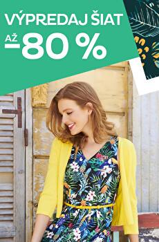 Výpredaj šiat až -80%