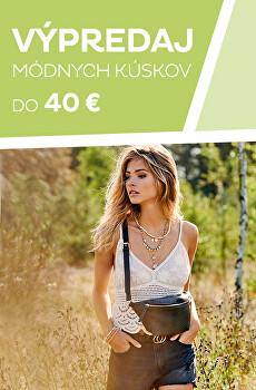 Výpredaj módnych kúskov do 40 €