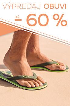 Výpredaj obuvi až - 60 %