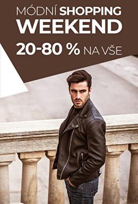 Módní shopping weekend 20-80 %