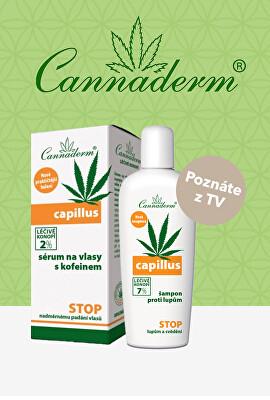 Cannaderm Capillus - poznáte z TV