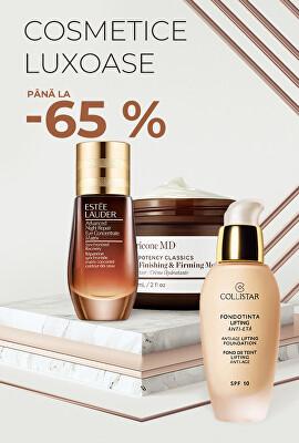 Cosmetice luxoase până la -65 %