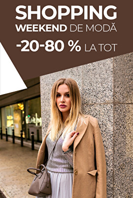 Módní shopping weekend 20-80 %