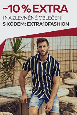 -10% na již zlevněné oblečení