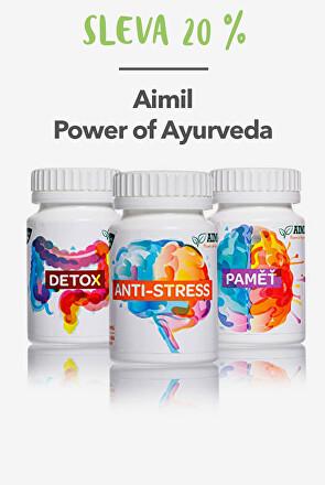 Aimil Power of Ayurveda sleva 20 %