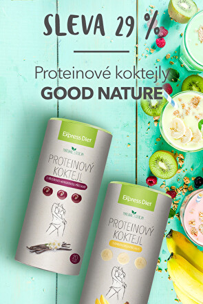 Proteinové koktejly Good Nature
