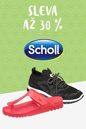Zdravotní obuv Scholl sleva až 30 %