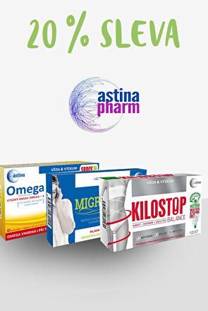 Astina - 20 % sleva
