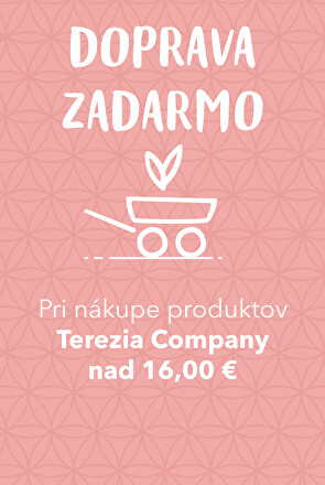Doprava zadarmo s Terezia Company nad 16 EURO