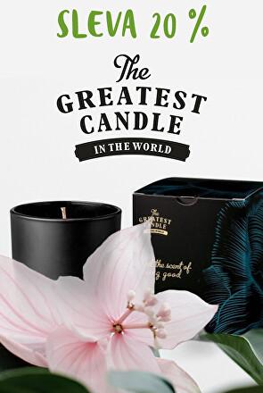 Výprodej vonných svíček Greatest Candle
