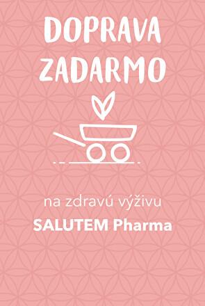 Doprava zadarmo s vybranými produktmi salut Pharma