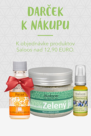 Darček k produktom Saloos nad 12,90 EURO