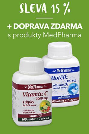Doprava zdarma MedPharma + 15 % sleva