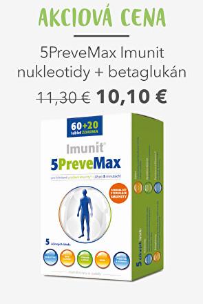 5PreveMax Imunit nukleotidy + betaglukan 60+20 tablet