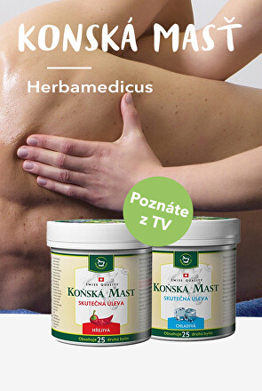 Konské masti Herbamedicus