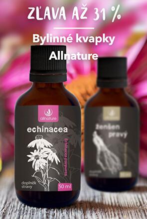 Bylinné kapky Allnature - sleva až 31 %