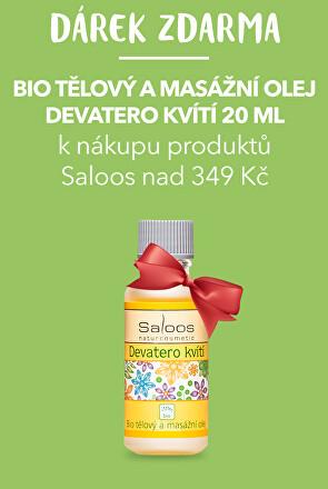 Dárek k nákupu produktů Saloos nad 349 Kč
