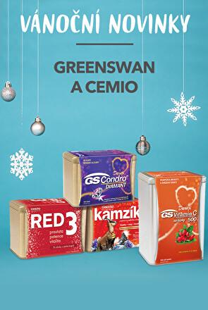 Vánoční novinky Greenswan a Cemio