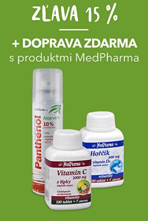 Doprava zdarma MedPharma + 15% zľava