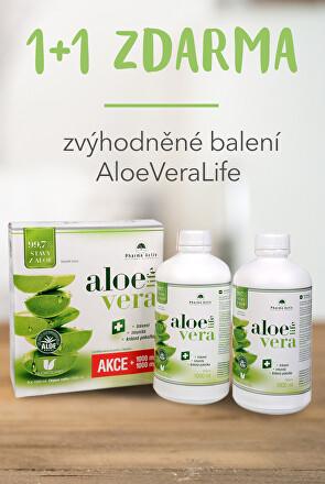 Zvýhodněné balení AloeVeraLife 1+1 ZDARMA