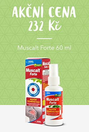 Muscalt Forte v akci