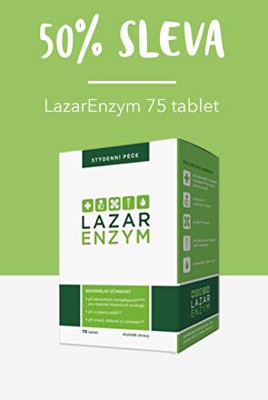 Lazar enzym - sleva