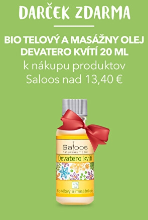 Darček k nákupu produktov Saloos