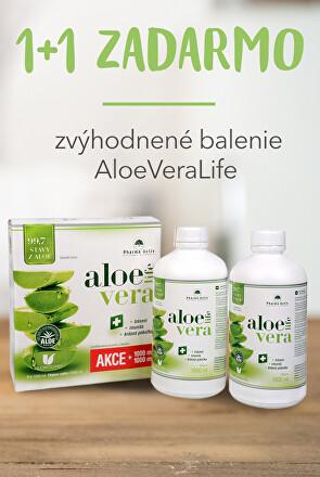 Zvýhodnené balenie AloeVeraLife 1+1 ZADARMO