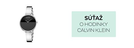 Súťaž o hodinky Calvin Klein