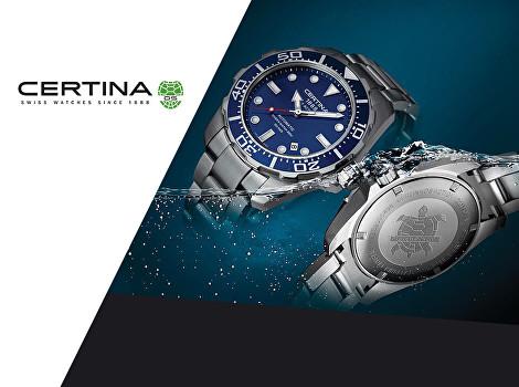 Luxusní hodinky Certina