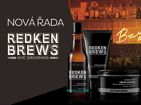 Barber kosmetika Redken Brews