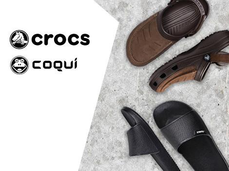 Crocs a Coqui