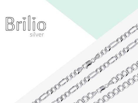 Pánské řetízky Brilio Silver