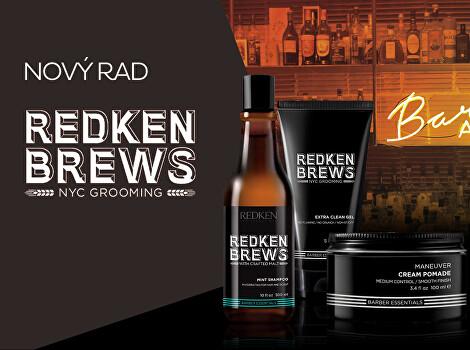 Barber kozmetika Redken Brews