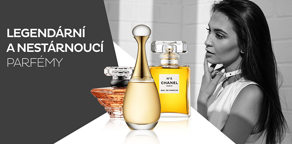 Poznejte legendární parfémy