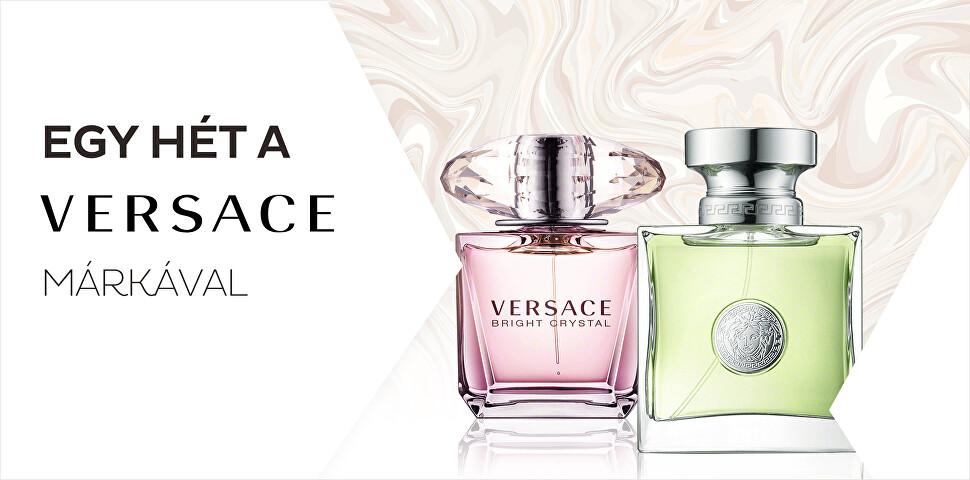 Egy hét a Versace márkával