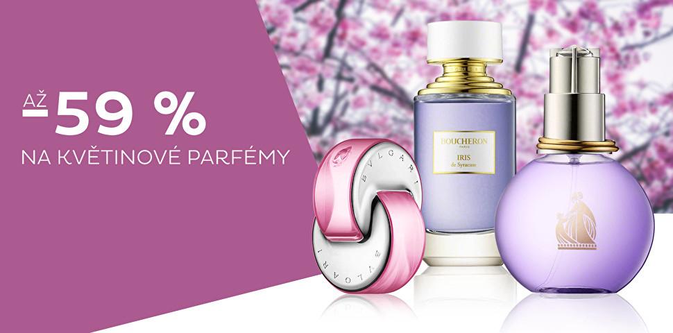 Květinové parfémy až -59 %