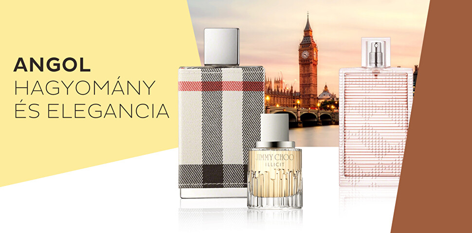 Parfümök angol