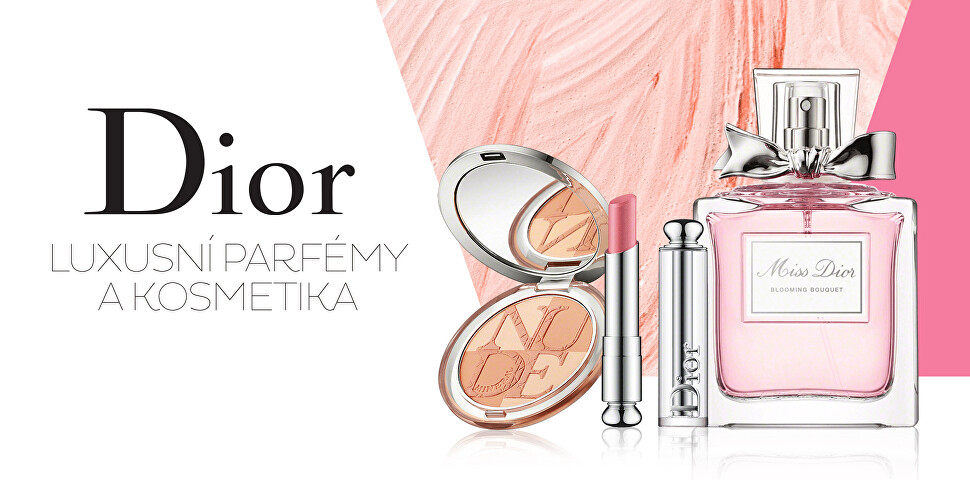Luxusní parfémy a kosmetika Dior