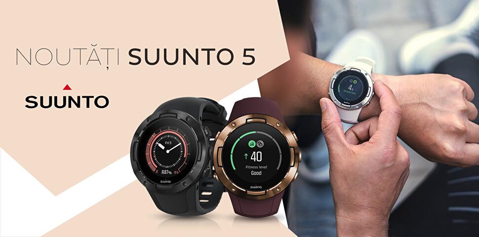 Noutăți ceasuri Suunto